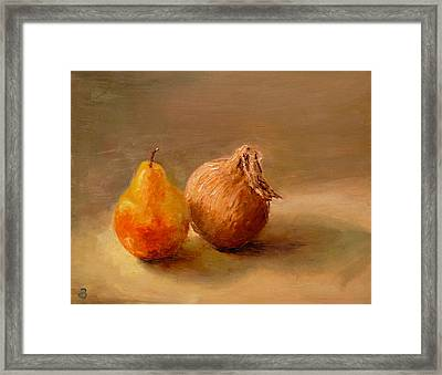 Framed Print featuring the painting Spotlight by Joe Bergholm