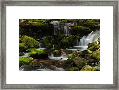 Spotlights Framed Print
