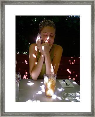 Spotted In Sunlight Framed Print