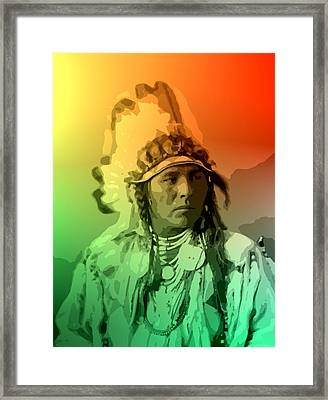 Spotted Jack Rabbit - Crow Framed Print