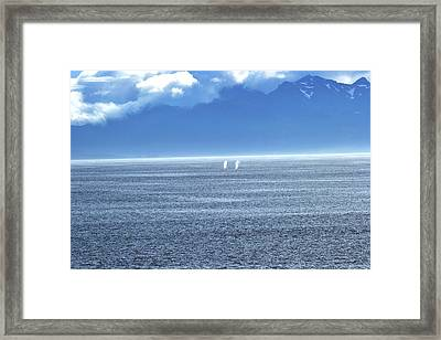 Spouting Off Framed Print