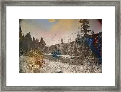Sprayscape Framed Print by Stephen Sly