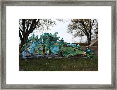Framed Print featuring the painting Spring 1 by Jan Swaren