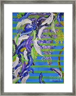 Spring And Fall Framed Print