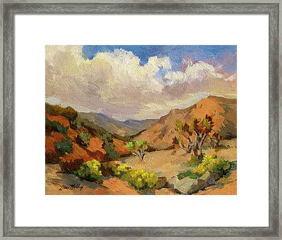 Spring At Joshua Tree Framed Print