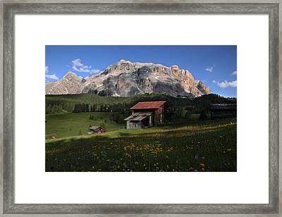 Spring At Santa Croce Framed Print