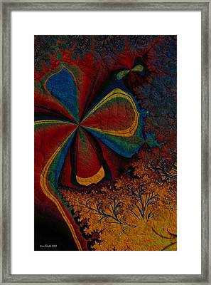Framed Print featuring the digital art Spring Awakes by Kim Redd