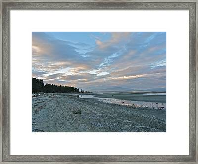 Framed Print featuring the photograph Spring Beach by Brian Sereda