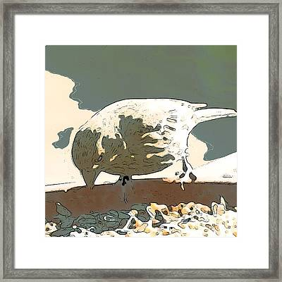 Spring Bird Framed Print by Artist and Photographer Laura Wrede