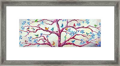 Spring Birds Framed Print