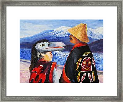 Spring Breeze. Alaska Framed Print