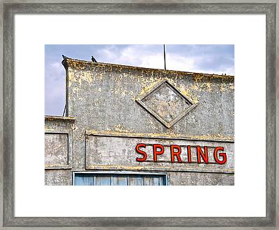 Framed Print featuring the photograph Spring by Brian Sereda