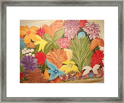Spring Colours Framed Print by Rachel Carmichael