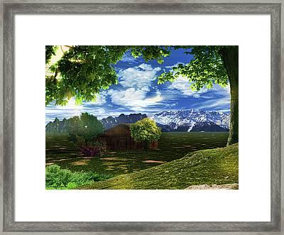 Spring Dawn Framed Print by Lourry Legarde
