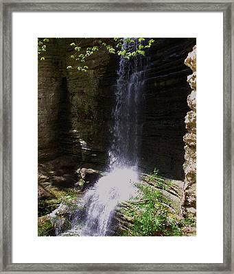 Spring Falls I Framed Print