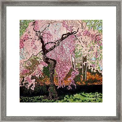 Spring Fever Framed Print by Brenda Marik-schmidt