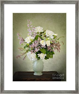 Framed Print featuring the photograph Spring Fragrance by Cheryl Davis