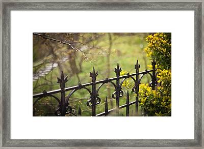 Spring Gate Framed Print by Mike Reid