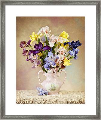 Framed Print featuring the photograph Spring Grand Finale by Cheryl Davis