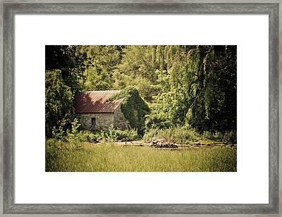 Spring House Framed Print