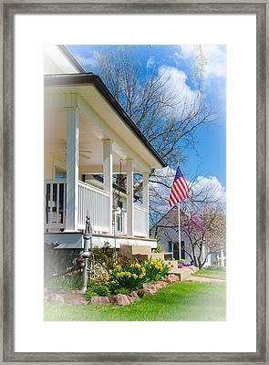 Spring In America Framed Print