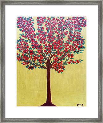 Spring In Full Bloom Framed Print by Prachi  Shah