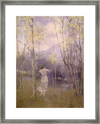 Spring In Moniaive Framed Print by James Paterson