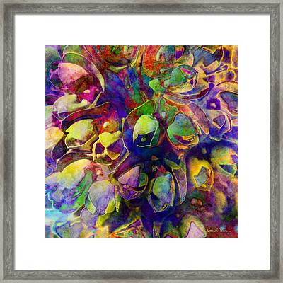 Spring In My Mind Framed Print by Barbara Berney