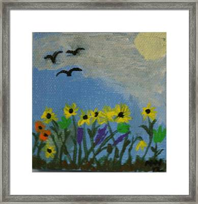 Spring Into Spring Framed Print by Maria  Wall