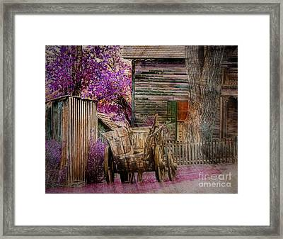 Framed Print featuring the digital art Spring  by Irina Hays