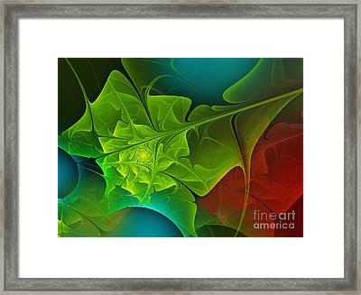 Spring Framed Print by Jutta Maria Pusl