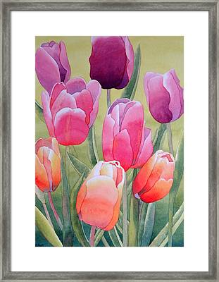Framed Print featuring the painting Spring by Laurel Best