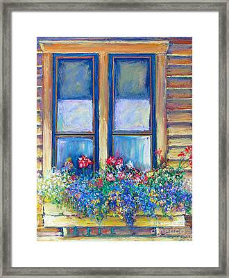 Spring Framed Print by Li Newton