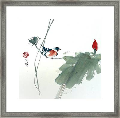 Spring Melody Framed Print by Ming Yeung