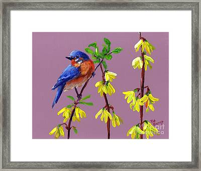 Framed Print featuring the painting Spring by Pat Burns