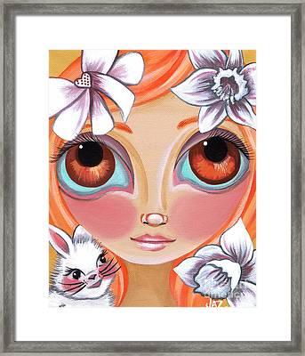Spring Princess Framed Print by Jaz Higgins