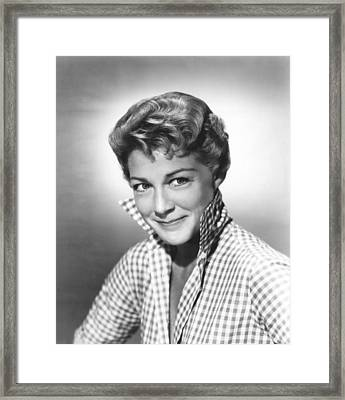 Spring Reunion, Betty Hutton, 1957 Framed Print
