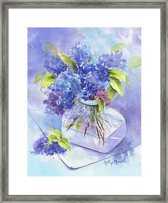 Spring Romance Framed Print by Kathy Nesseth