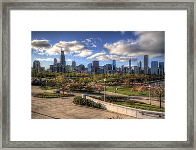 Spring Time Is Here Framed Print