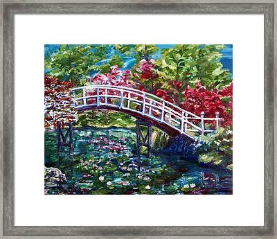 Spring Tranquility Framed Print