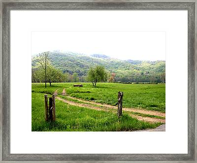 Framed Print featuring the photograph Springs Alive by Paul Mashburn