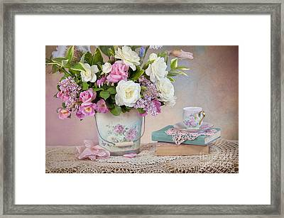 Springtime Pleasure Framed Print by Cheryl Davis