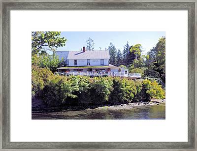 Springwater Lodge Framed Print by John  Greaves