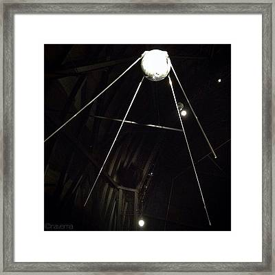 Sputnik 1: Space Age Began On Oct. 4th Framed Print