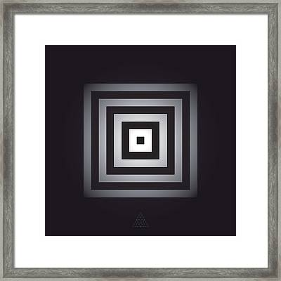 Square Pulse V15.1 Framed Print by Guardians of the Future