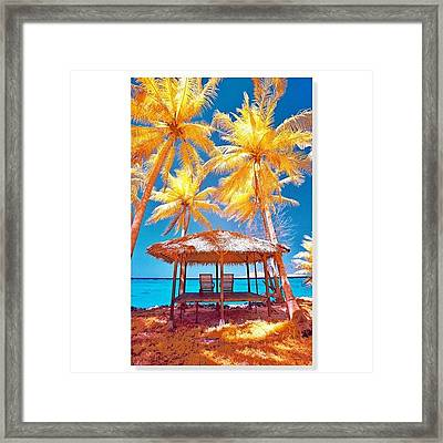 #squaready #instatune #ic_landscapes Framed Print