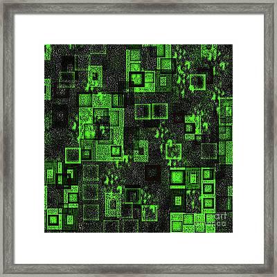 Squarer Than All Framed Print