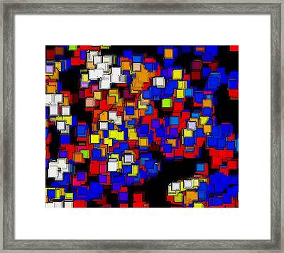 Squares Selection Number 2 Framed Print by Rod Saavedra-Ferrere