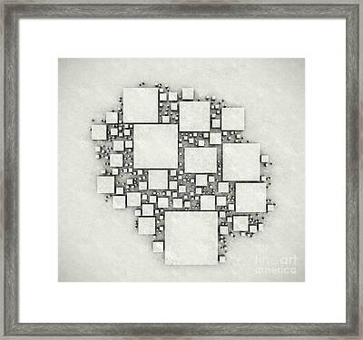 squares September 2012 Framed Print