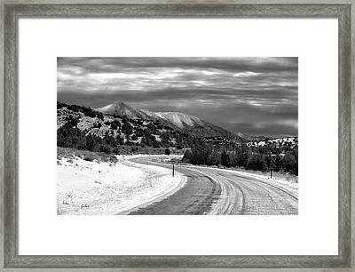 Squaw Pass Framed Print by Gary Rose